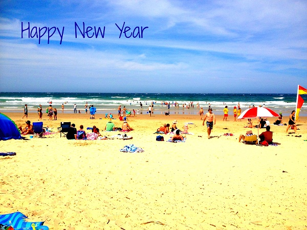 Happy New Year The Beach